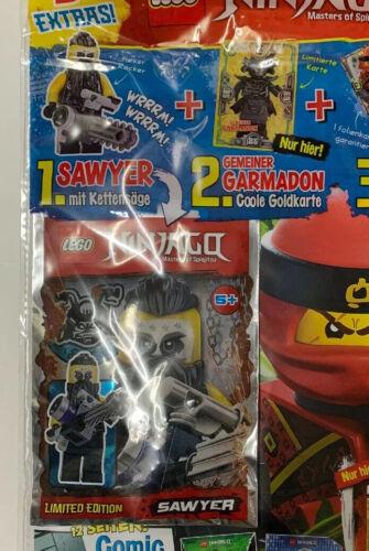 Sawyer Lego Ninjago Magazin Nr 35 Neu #11Q5