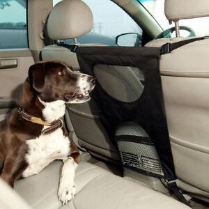 car seats back anti harassment separation pet dog isolation fence cover mesh ebay. Black Bedroom Furniture Sets. Home Design Ideas
