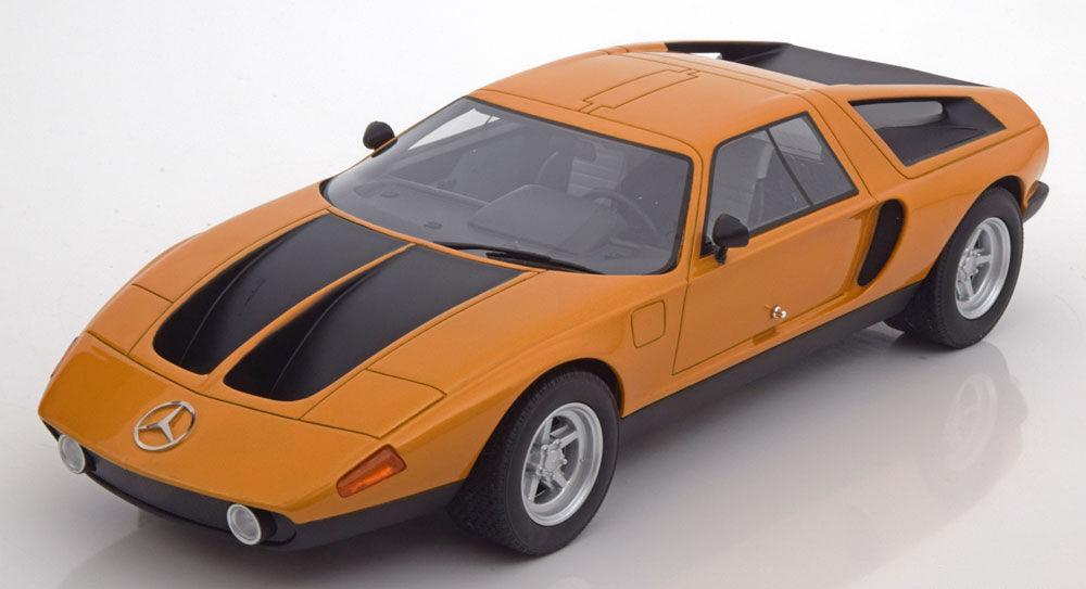 1970 Mercedes Benz C111   II  Concept-voiture Orange Met par Bos Modèles 1 18 Échelle  bon shopping