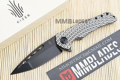 KIZER MIKKEL WILLUMSEN YAMAKASI Ki4489 ,folding knife,S35VN,TITANIUM ,NEW in BOX