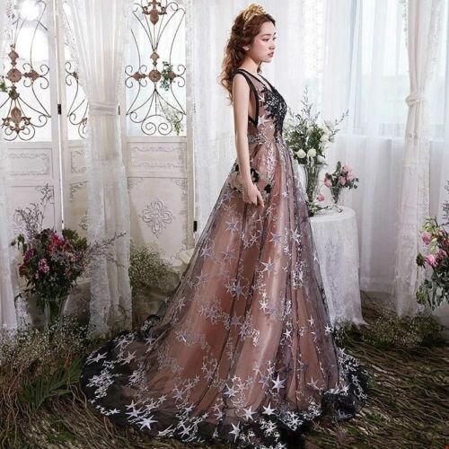 Tüll Netz Stickereien Stoff Stern Tutu Rock Hochzeits Kleid Kostüm Spitze Diy