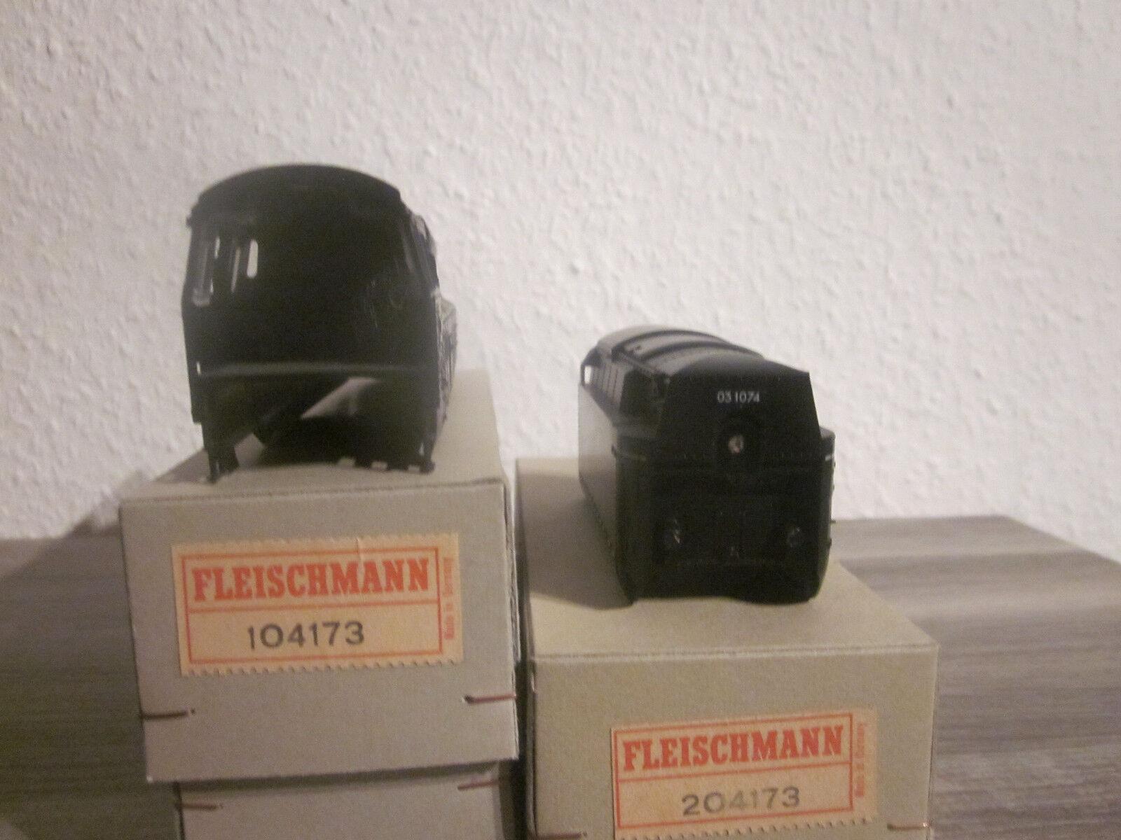 RARITÄT Fleiscchmann Gehäuse Stromlinien Lok    Tender NEU  OVP  Art.Nr 204173    Erste Gruppe von Kunden  6148ab
