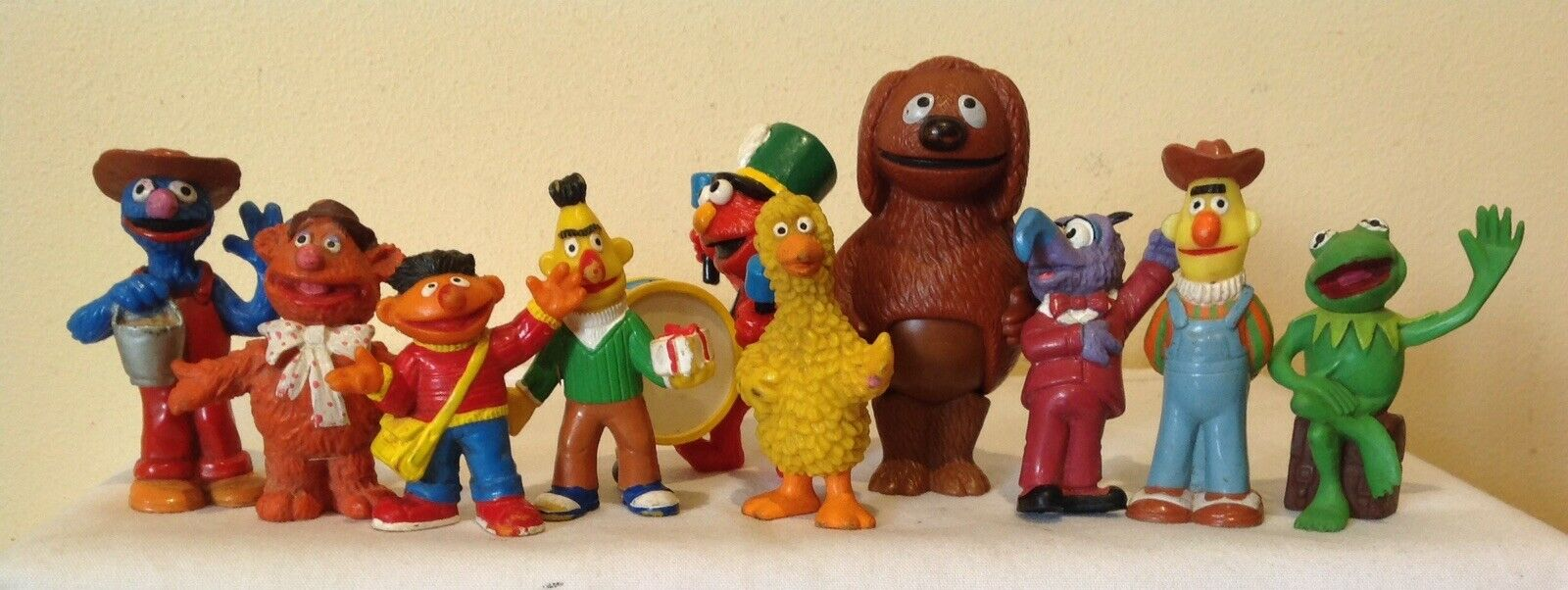 Vintage JIM HENSON MUPPETS figurines by Bully W.Germany