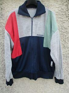 Détails sur Veste LE COQ SPORTIF YANNICK NOAH vintage tennis jacket tracktop jacke giacca L