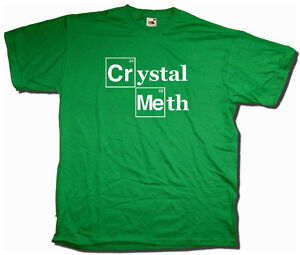 Crystal meth periodic table t shirt inspired by bb heisenberg cult image is loading crystal meth periodic table t shirt inspired by urtaz Images