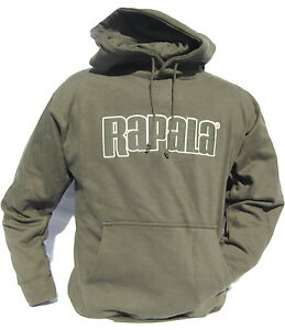 3da083778f653 Cabela's Men's RAPALA Men's Heavyweight Fishing Hunting Hoodie size ...