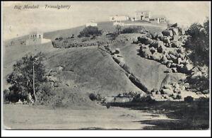 Trimulgherry-India-Indien-Postcard-1905-10-Big-Moulali-Teilansicht-Berg