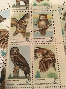 20 owl stamps for holiday wedding and valentine mail ebay