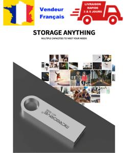 lot ou pack 3 Micro Clés USB 2 Flash Drive 4 Go Gb GIGA ALU métal Résiste Eau
