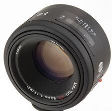 Minolta AF 50mm f1.7 portrait lens SONY Alpha DSLR camera 50/1.7 A560 A700 A580