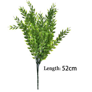 Artificial Weeping Willow Hanging Green Vines Flower Leaves Fake Plant New F7V4
