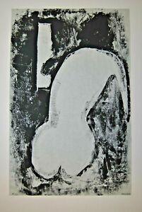 Pawlinin-Akt-vor-dem-Spiegel-Monotypie-handsigniert-Expressionismus