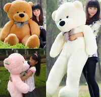 Super Lovely 80/100cm Hairy Giant Big Plush Stuffed Teddy Bear Soft Cotton Toys