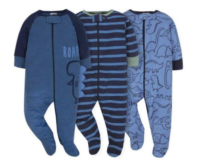 2-Pack Girls Organic Bear Sleep N/' Play Sleeper Set Choose Size NWT