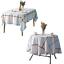 miniature 20 - Imperméable Nappe Home Table de salle à manger Protecteur Rond/Rectangulaire Table Housse