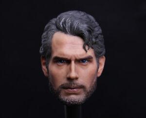 1-6-Superman-Head-Sculpt-Henry-Cavill-Man-of-Steel-For-12-034-Hot-Toys-Figure
