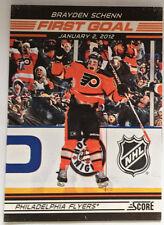 Brayden Schenn 2012/13 Score First Goal Insert #FG16 - Philadelphia Flyers