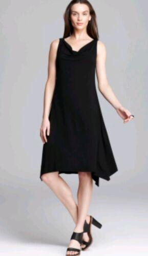 Dress Mouchoir noir Eileen Designer OnceJersey Taille XxsUsed Fisher Hem D2IYWeEH9