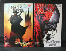 DARK TOWER GUNSLINGER 1-7 Stephen King 1st ED + Spot Sketch Gude B/mark Variants