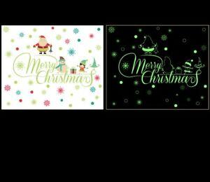 Weihnachten-Wandtattoo-Merry-Christmas-Winter-Wandsticker-Wandbild-Aufkleber