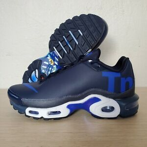 cheap for discount b9932 518f9 Details about Nike Air Max Plus TN Mercurial Navy Royal Blue White Running  Size 6 (AQ1088-400)