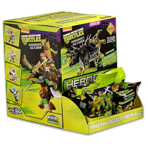 Heroclix Teenage Mutant Ninja Turtles Shredder's Return (Gravity Feed of 24) NEW