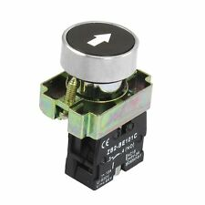 22mm 1 NO N/O Black Sign Momentary Push Button Switch 600V 10A ZB2-BA3351