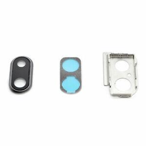 Appareil-Photo-Lentille-Set-Pour-IPHONE-8-Plus-Noir-Verre-Support-Joint-Cadre