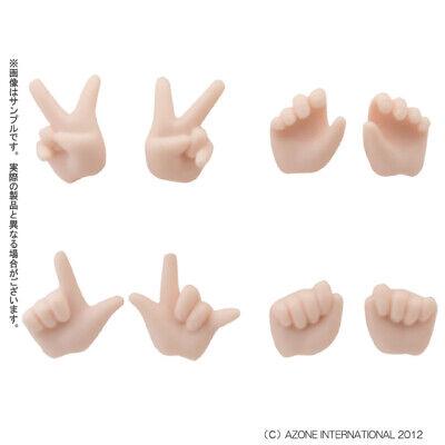 Azone Picco Neemo D Hand Parts White Skin 1//12 Doll