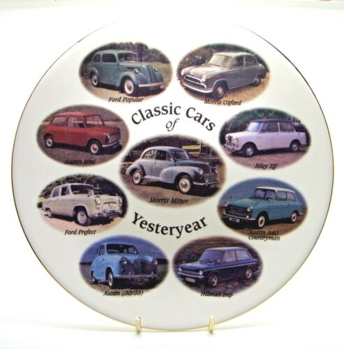 Classic Cars of Yesteryear Bone China Plate