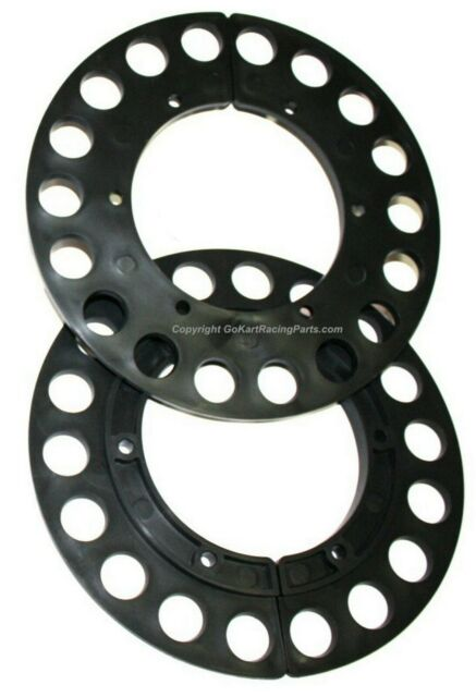 Pit Parts 58 Tooth #35 Chain Red Split Sprocket Mini Bike /& Go Kart Parts PP58