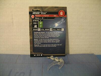 Axis /& Allies War at Sea Base Set Kinai Maru 56//64 NO CARD
