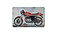 Ducati 500 Sport Desmo Motorbike Sign Metal Retro Aged Aluminium Bike