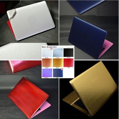 Laptop Metal Brushed Skin Sticker Protector For Lenovo ideapad 510S-14 310S-14
