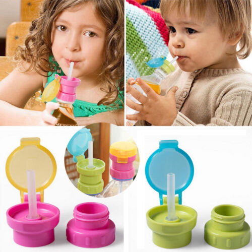 Drinking Straw Cover Children Portable Spill-proof  Drink Water Bottle Cover New