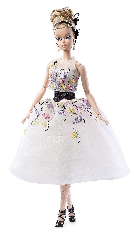 Barbie Muñeca De Colección Clásico Cóctel Vestido Silkstone-DGW56