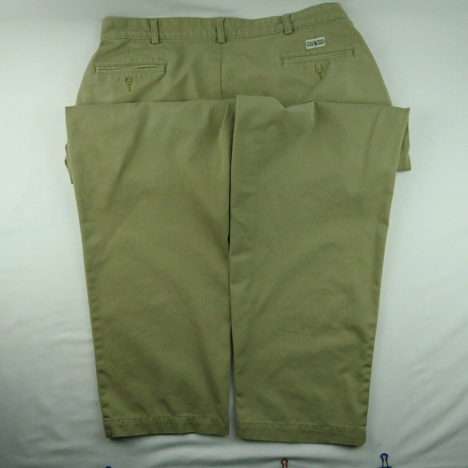 VTG Polo Chino Ralph Lauren Mens Khaki Tan Pants … - image 4