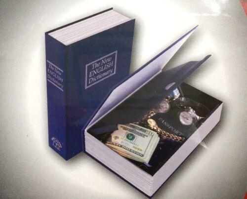 5xBücher Tresor Buchattrappe Attrappe Safe Geldkassette Geheimversteck 265mm