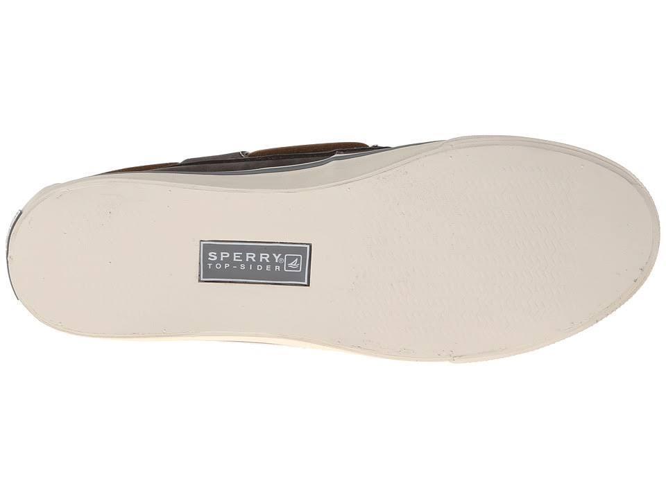 SPERRY TopSider Bahama 2-eye Washable Washable Washable Graphite Leather Boat shoes NIB Wmns 6.5m b11e13