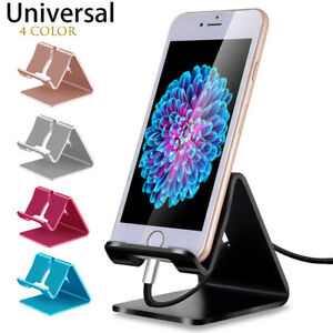 Universal-Aluminum-Phone-Desk-Table-Desktop-Stand-Holder-For-Cell-Phone-Tablet-R