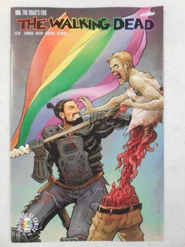 The WALKING DEAD # 168 Comic ~ Variant LGBTQ Gay Pride COVER ~ Image Comics