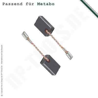 W 10-150 Quick Balais Charbon pour Metabo Meuleuse Angulaire W 10-125 Quick