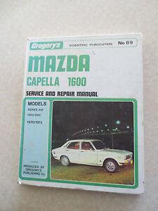 1970 1973 mazda capella 1600 service and repair manual ebay rh ebay com mazda 626 user manual pdf 2002 mazda 626 owners manual