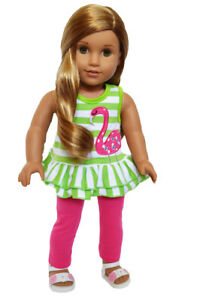 18 Inch Doll Clothes Giraffe Shorts Outfit For American Girl Dolls
