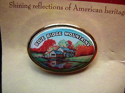 Blue Ridge Mountains new Hat Lapel Pin Tie Tac Mint HP9071