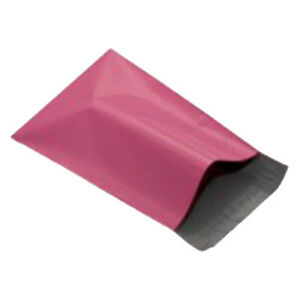 50-Pink-10-x14-Mailing-Postage-Postal-Mail-Bags