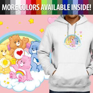 Care-Bears-Grumpy-Cheer-Tenderheart-Funshine-Pullover-Sweatshirt-Hoodie-Sweater