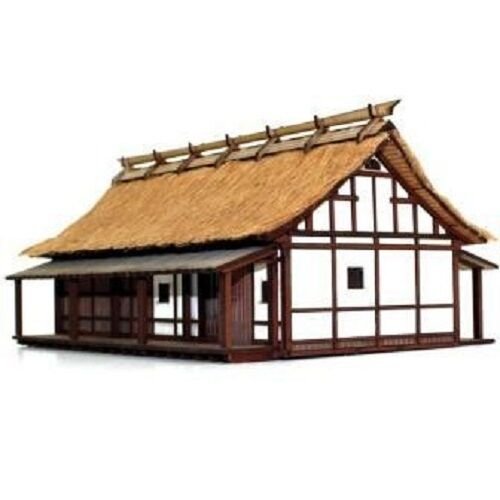 28MM PEASANT ELDER'S HOUSE - SHOGUNATE JAPAN - 28S-EDO-109