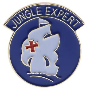 US-Army-Jungle-Expert-Gold-Tone-Enamel-1-inch-Hat-Pin-JCH14943D152