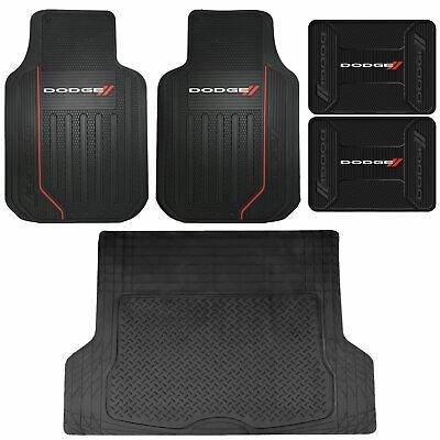 Dodge Ram Elite Series Front /& Rear Car Truck SUV Seat Rubber Floor Mats U.A.A INC